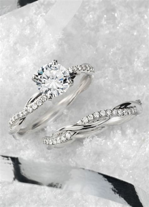 engagement bands for 17 best ideas about infinity wedding bands on