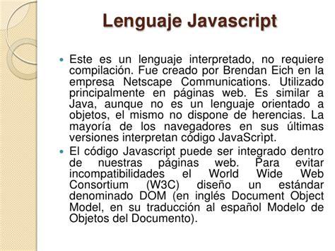 este sitio requiere msie 5 5 o netscape 6 optimizado para 800x600 lenguajes de programaci 243 n para la web