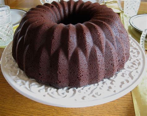 Chocolate Sour Cream Bundt Cake Recipe ? Dishmaps