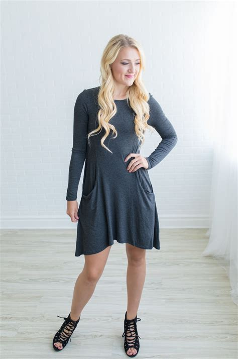 Sleeve Pocket Dress groopdealz sleeve pocket dress
