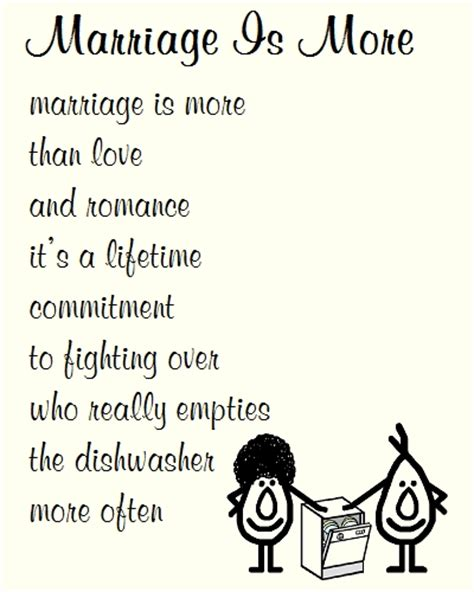 Wedding Wishes Poem by Marriage Is More A Poem Free Congratulations