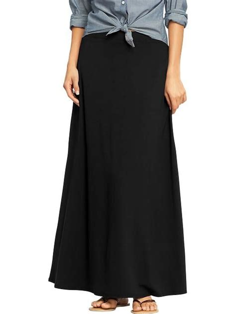 navy s jersey maxi skirts clothes