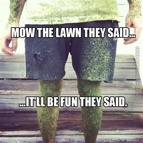 grass cutting quotes funny lawn mowing quotes quotesgram