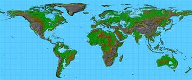 map of us with global warming a detailed map of how the world would look like when