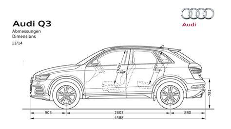 2019 audi q3 dimensions dimensions audi q3 auto express