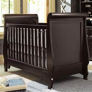 mix and match grand sleigh crib in choice of finish and