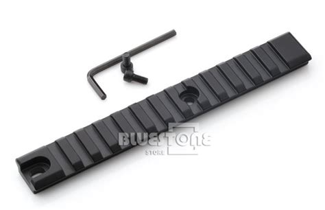 New Picatiny Rail Lebar 20mm Panjang 153mm 13 slots weaver picatinny rail mount fits for many shotgun