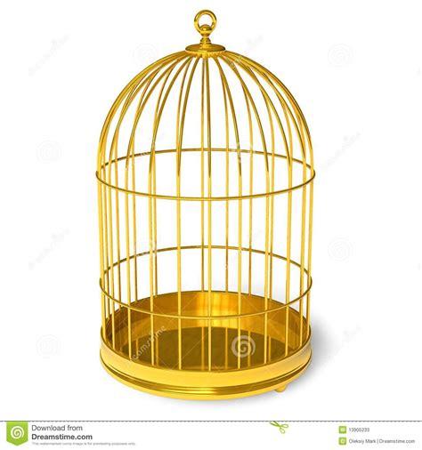 gabbia dorata gabbia dorata fotografie stock immagine 13905233