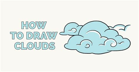 How To Draw A Cloud
