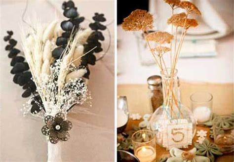 Bouquet Of Dried Wheat Table Centerpiece Of Dried Plants Dried Wheat Centerpieces