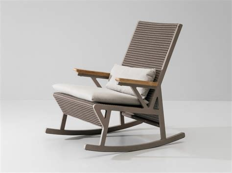 rocking armchair uk buy the kettal vieques rocking chair at nest co uk