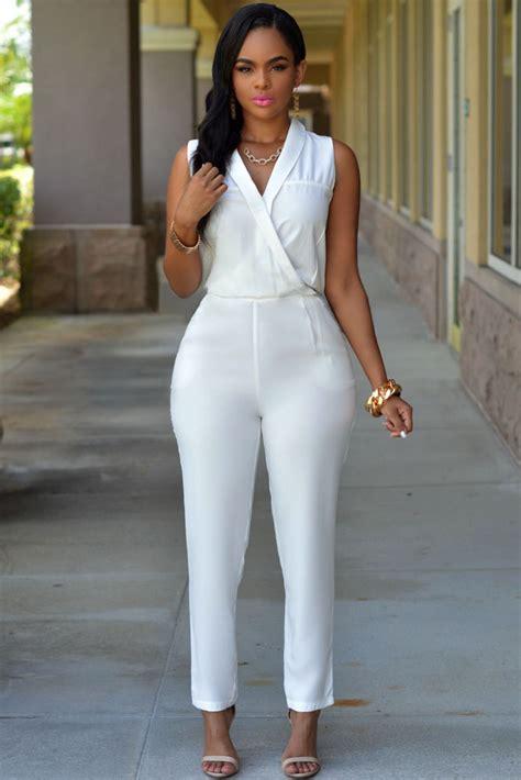 Sale Silver Pattern Denim Jumpsuit Sk wholesale luxe white jumpsuit