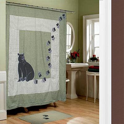 country themed curtains shower curtain quilt simple home decoration