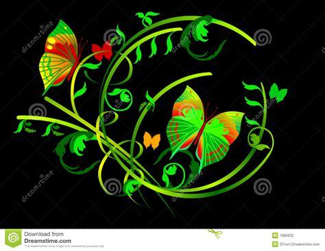 imagenes negro con mariposas y desfiles florales en fondo negro fotograf 237 a de