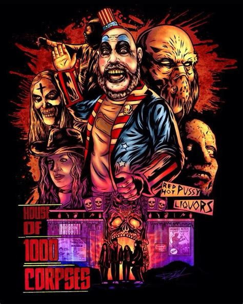 rob zombie house of 1000 corpses house of 1000 corpses by my talented friend raziel dead art