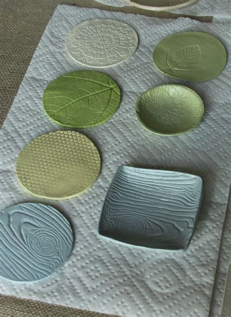 air clay projects crafts textured clay think crafts by createforless