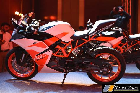 ktm rc 200 price in india 2017 ktm rc200 revised for 2017 continues to offer