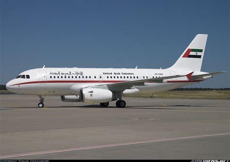 emirates a319 airbus acj319 a319 133 cj united arab emirates