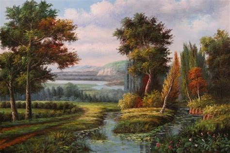 beautiful landscapes paintings
