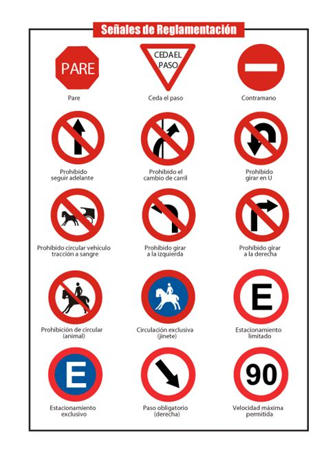 imagenes de simbolos viales se 241 ales viales imagui
