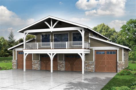 garage designs with apartments 2 story garage plans