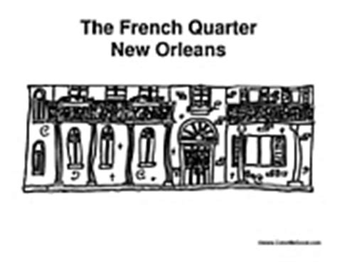 french quarter coloring page mardi gras coloring pages