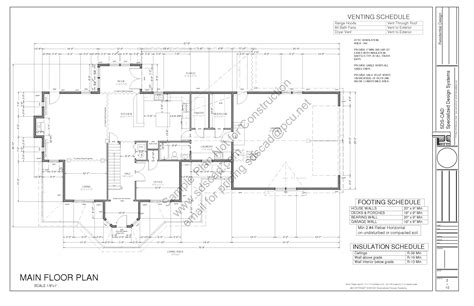 construction plan for house country house plan sds plans