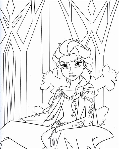 queen elsa printable coloring pages 12 free printable disney frozen coloring pages anna