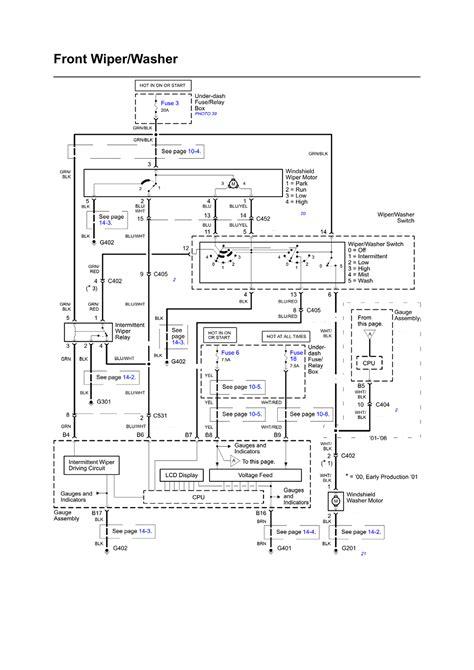 honda insight 2006 wiring diagram auto repair manual repair guides wiring diagrams wiring diagrams 1 of 24 autozone com