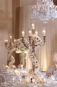 dress up a candelabra centerpiece with a garland of