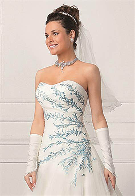 Robe De Mariée Bleu Turquoise Et Ivoire - robe de mari 233 e rabane les mari 233 es de talia