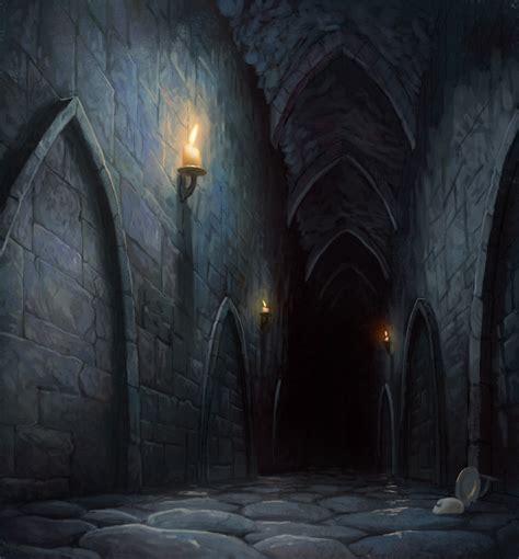 Dungeon Dark Castle Background   glimpse into utterdark by m0ai on deviantart