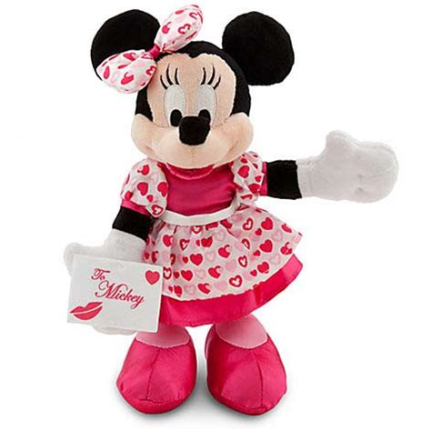minnie mouse valentines your wdw store disney plush s day minnie mouse