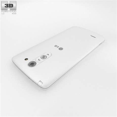 Lg G3 Stylus Black White lg g3 stylus white 3d model hum3d