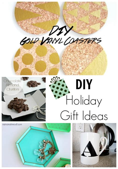 diy holiday gift ideas for a handmade holiday making