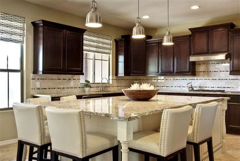 Kitchen Islands That Seat 8 Kitchen With Custom Designed