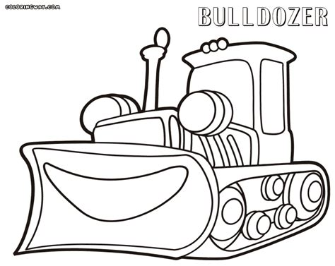 Bulldozer Coloring Pages Coloring Pages To Download And Bulldozer Coloring Pages