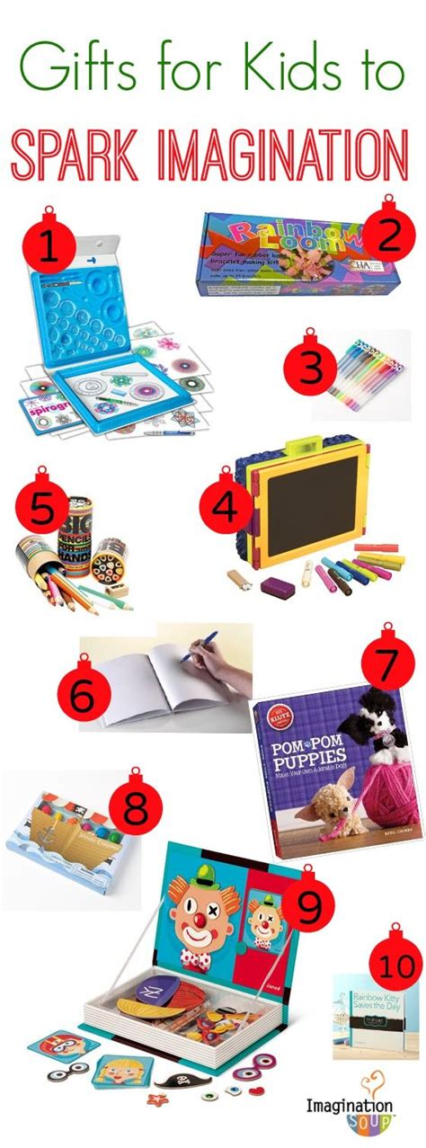 love these artsy gift ideas for creative kids
