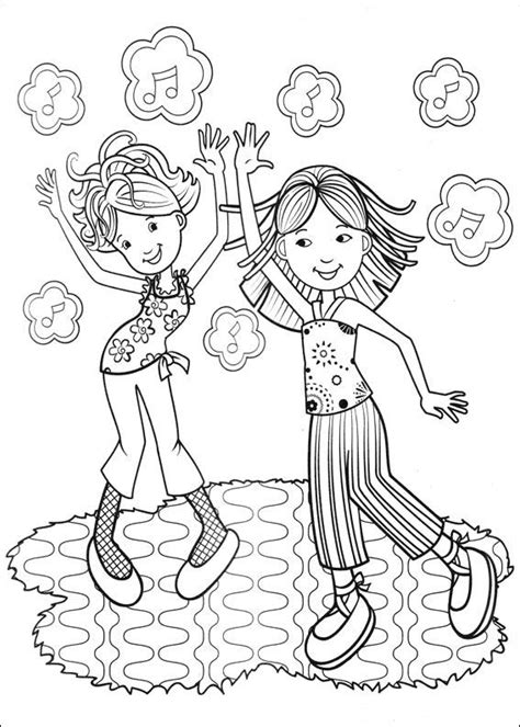 Kids N Fun Com 65 Coloring Pages Of Groovy Girls Groovy Coloring Pages