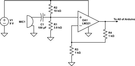 resistor divider op op convert an audio signal to 0 5v using single supply op electrical engineering