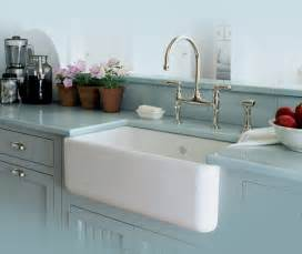 Kitchen Sink In Bathroom Rohl Single Bowl Fireclay Apron Kitchen Sink Traditional Kitchen San Luis Obispo By