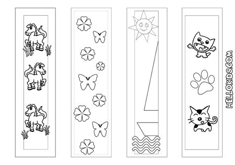 printable animal bookmarks to color free printable cherry blossom midtown
