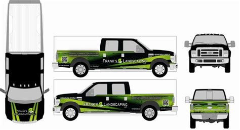 truck wrap templates how to design your own truck graphics