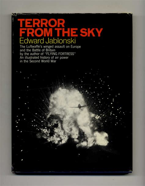 sky terror books airwar volume i terror from the sky edward jablonski