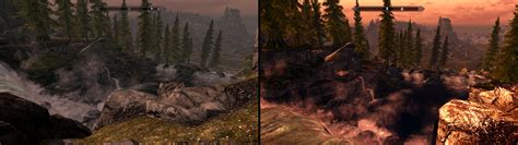 skyrim ultra graphics mod best skyrim graphics mods before and after gamersnexus