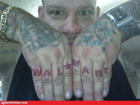 dumbest tattoos ever world s dumbest finger tattoos rihanna vs walmart