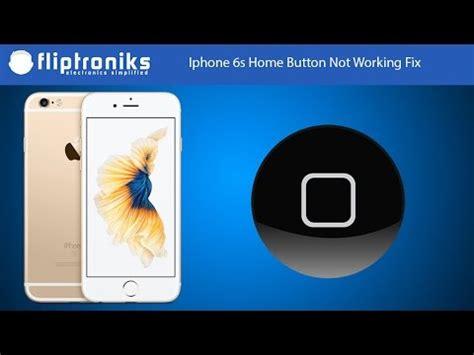 iphone  home button  working fix fliptronikscom