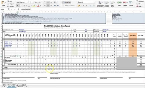 excel template for timesheet excel timesheet template with formulas template design
