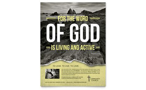 Bible Church Flyer Template Word Publisher Caign Flyer Template Word