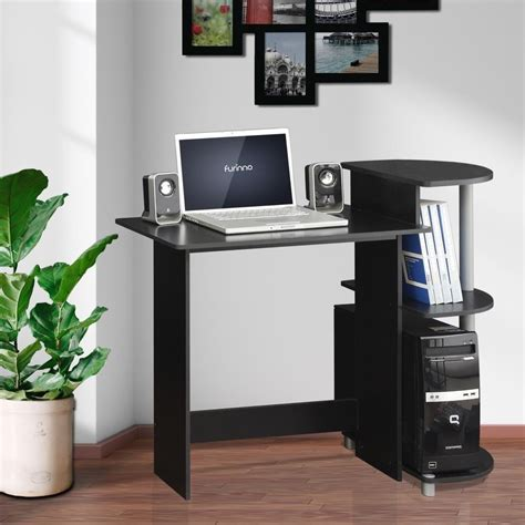 Furinno Compact Computer Desk Planing Compact Computer Desk For Small Place The Decoras Jchansdesigns